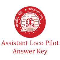 RRB Assistant Loco Pilot Answer Key