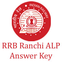RRB Ranchi ALP Answer Key