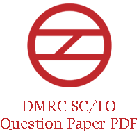 DMRC SC TO Question Paper PDF