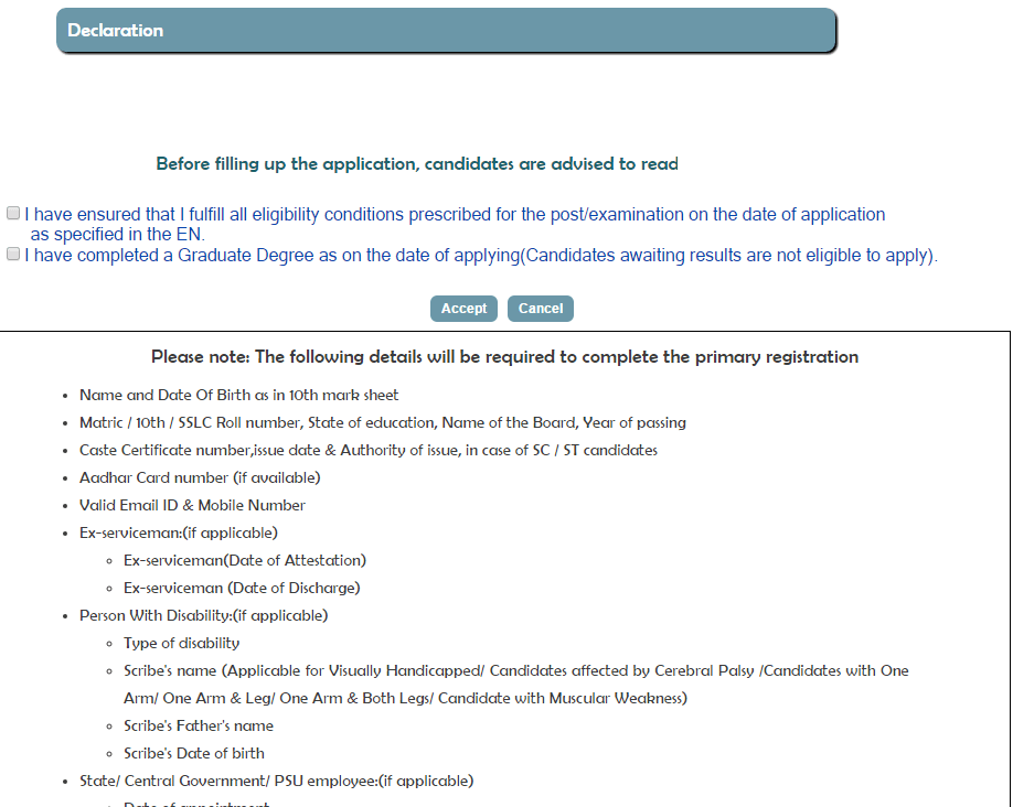 railway recruitment board online application