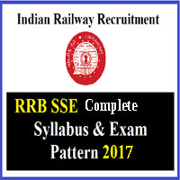 RRB SSE Exam Pattern