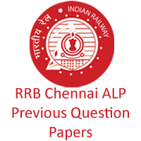 RRB Chennai ALP Previous Question papers