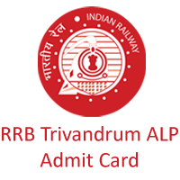 RRB Trivandrum ALP Admit card