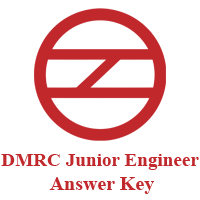 DMRC JE Answer Key