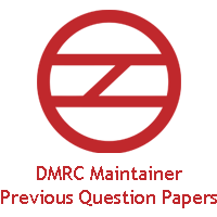 DMRC Maintainer Previous Year Question Paper PDF Image