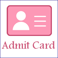 Northern Railway Good Guard Admit Card