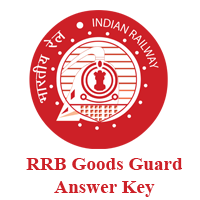 RRB Goods Guard Answer Key