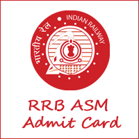 RRB ASM Admit Card