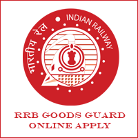 RRB Goods Guard Online Apply