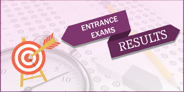 Entrance Exam Results Image