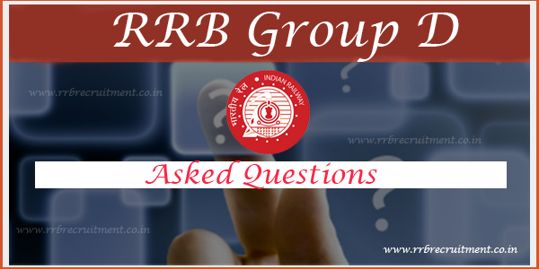rrb gr d asked questions